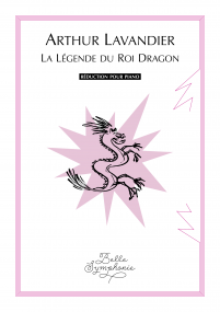 La Légende du Roi Dragon (vocal score) image